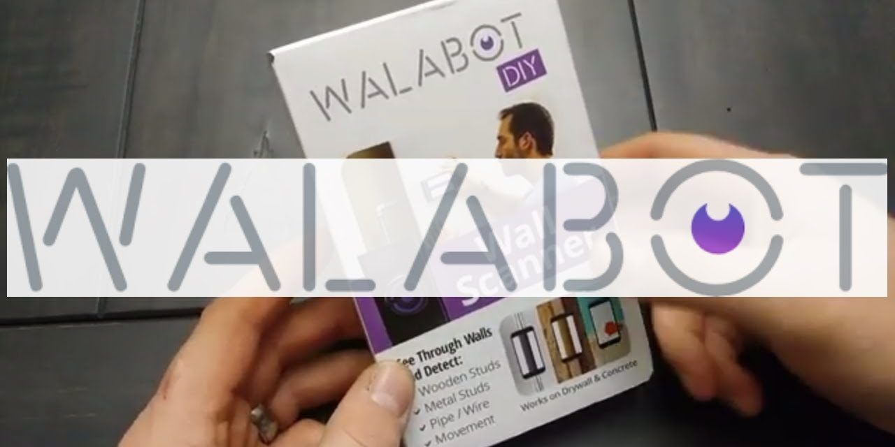Walabot Diy In Wall Imager